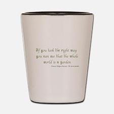 The Secret Garden Quote Shot Glass