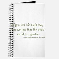 The Secret Garden Quote Journal
