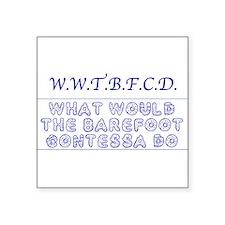 Gilmore Girls WWTBFCD Sticker