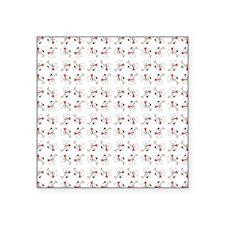 "HOCKEY BEARS Square Sticker 3"" x 3"""