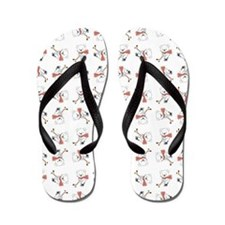 HOCKEY BEARS Flip Flops