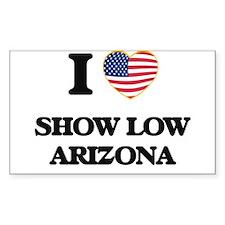 I love Show Low Arizona USA Design Decal