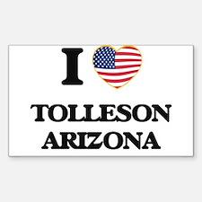 I love Tolleson Arizona USA Design Decal