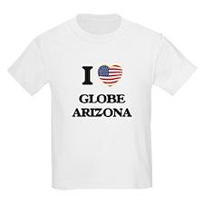 I love Globe Arizona USA Design T-Shirt