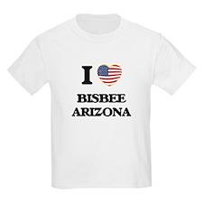 I love Bisbee Arizona USA Design T-Shirt