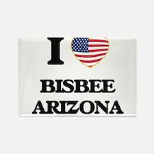 I love Bisbee Arizona USA Design Magnets