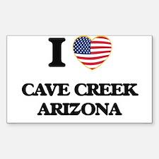 I love Cave Creek Arizona USA Design Decal