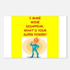wine Postcards (Package of 8)