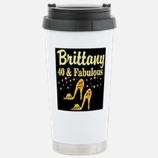 40TH FASHIONISTA Stainless Steel Travel Mug