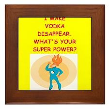 vodka Framed Tile