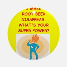root beer Ornament (Round)