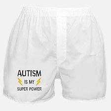 Autism Is My Super Power Boxer Shorts