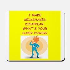 MILKSHAKES Mousepad