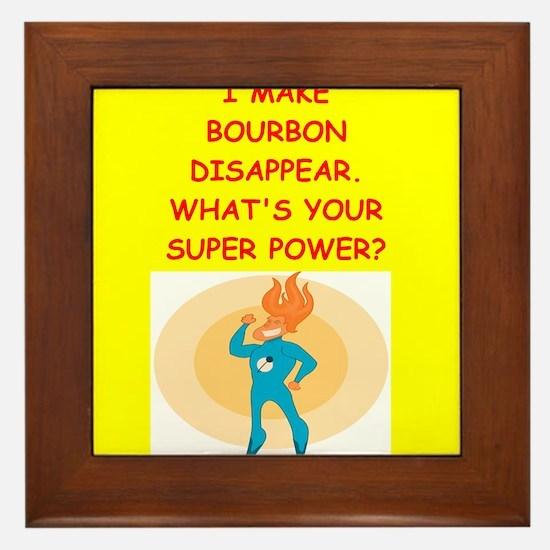 bourbon Framed Tile