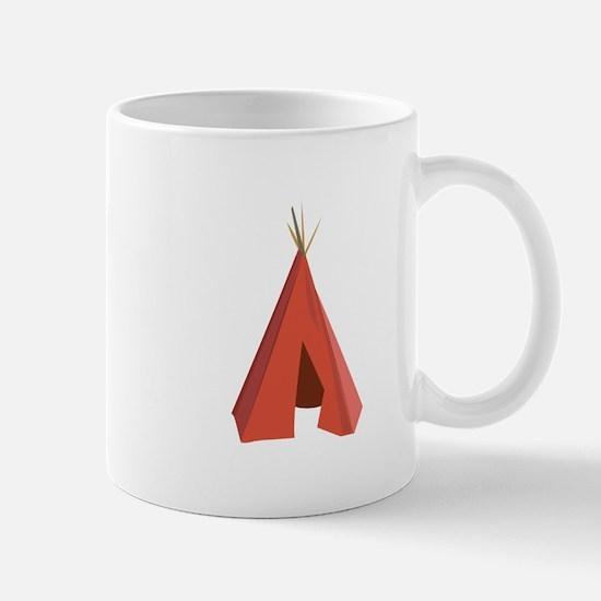 Indian Teepee Mugs