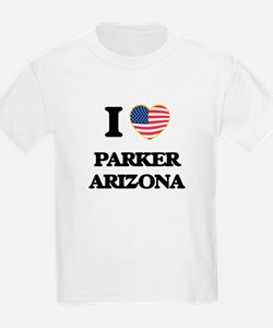 I love Parker Arizona USA Design T-Shirt