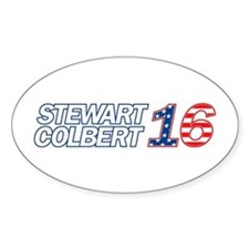 Stewart + Colbert 2016 Decal