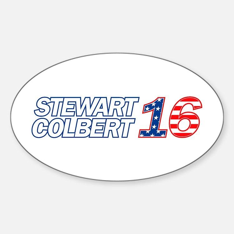 Stewart + Colbert 2016 Decal