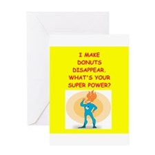 donut Greeting Cards