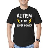 Autism Fitted T-shirts (Dark)