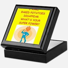 baked potato Keepsake Box