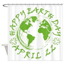 Earth Day Celebration 1 Shower Curtain