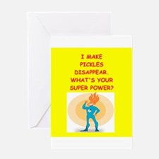 pickles Greeting Cards