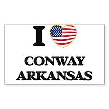 I love Conway Arkansas USA Design Decal