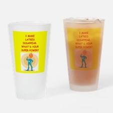 latkes Drinking Glass