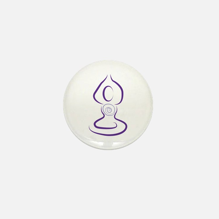 Yoga Symbol Mini Button (100 pack)