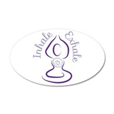 Inhale Exhale Wall Decal
