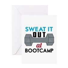 Sweat It Out Greeting Cards
