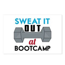 Sweat It Out Postcards (Package of 8)