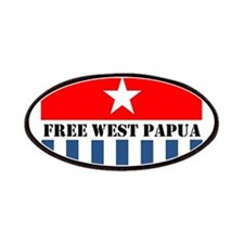 Free West Papua Morning Star Flag Logo Patch