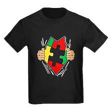 Funny Autism Superhero T-Shirt