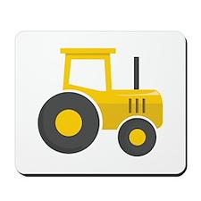 Yellow Tractor Mousepad