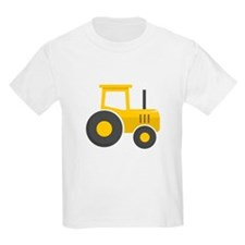 Yellow Tractor T-Shirt