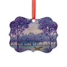 Wandering Fox Ornament