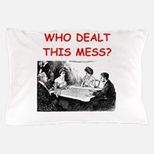 funny bridge joke on gifts and t-shirts Pillow Cas
