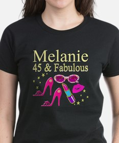 45 AND FABULOUS Tee