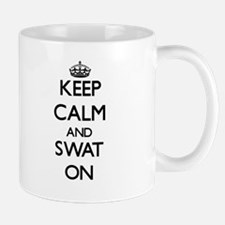 Keep Calm and Swat ON Mugs