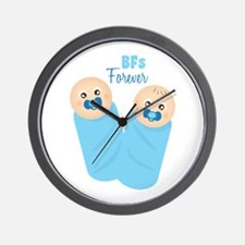 BFs Forever Wall Clock