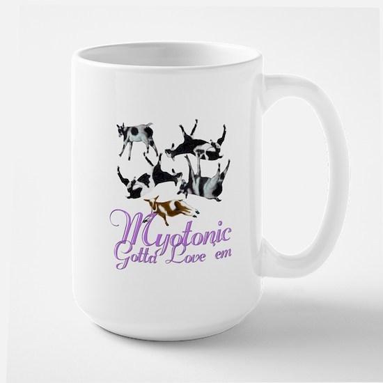 Myotonic Goat Gotta love'em Large Mug