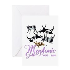 Myotonic Goat Gotta love'em Greeting Card