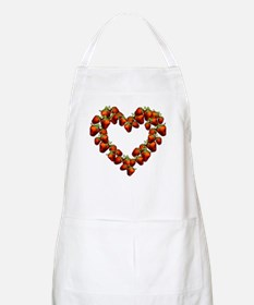 Strawberry Heart BBQ Apron