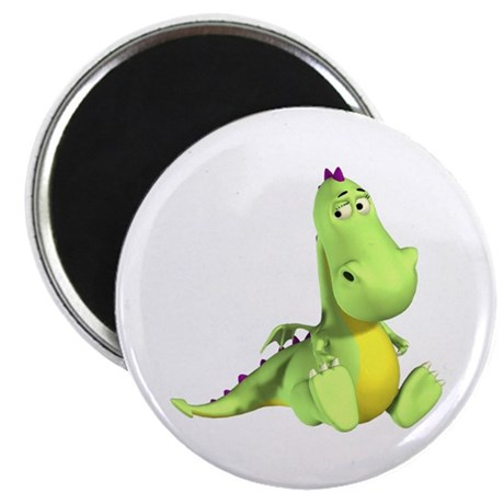 Cute Green Dragon Magnets