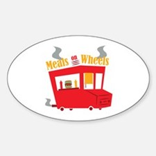 Meals On Wheels Decal