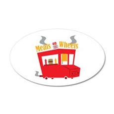 Meals On Wheels Wall Decal
