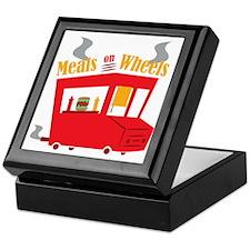 Meals On Wheels Keepsake Box