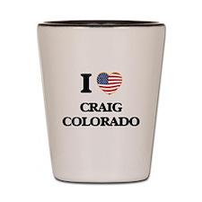 I love Craig Colorado USA Design Shot Glass